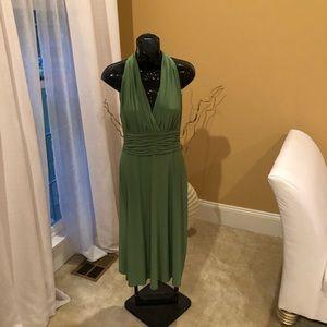 Evan-Piccone Green Dress Size 6
